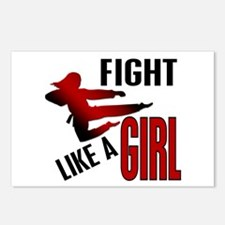 Fight Like a Girl 4.1 Postcards (Package of 8)