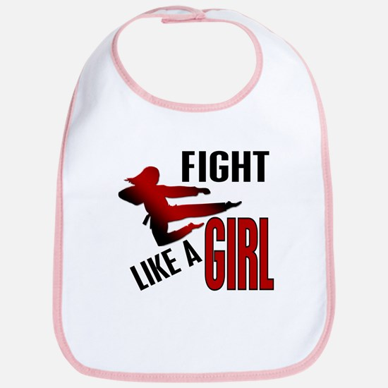 Fight Like a Girl 4.1 Bib