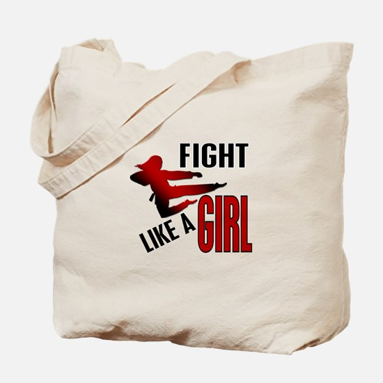 Fight Like a Girl 4.1 Tote Bag
