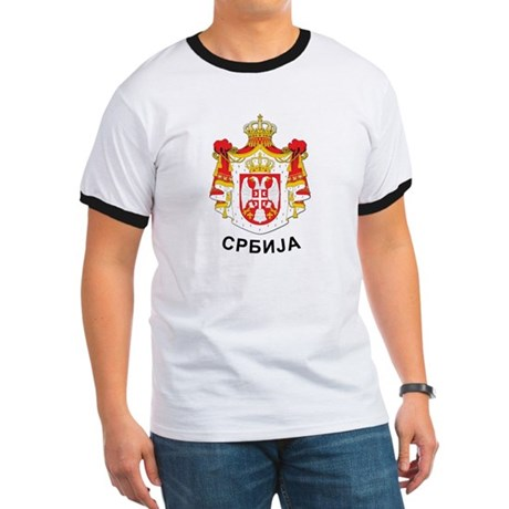 Serbia coat of arms with name Ringer T