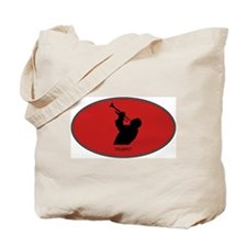 Trumpet (euro-red) Tote Bag