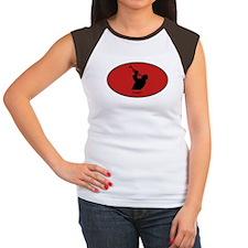 Trumpet (euro-red) Women's Cap Sleeve T-Shirt