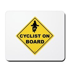 Cyclist Mousepad