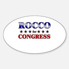ROCCO for congress Oval Decal