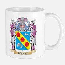 Holley Coat of Arms (Family Crest) Mugs