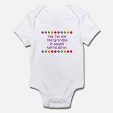 Yes, I'm the one Grandpa is a Infant Bodysuit