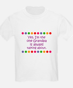 Yes, I'm the one Grandpa is a T-Shirt