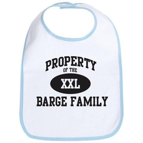Property of Barge Family Bib