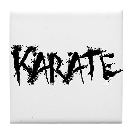 """Karate"" 3 Tile Coaster"