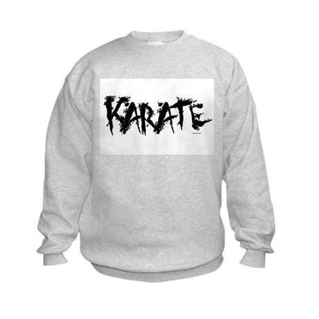 """Karate"" 3 Kids Sweatshirt"