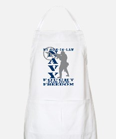 Son-n-Law Fought Freedom - NAVY BBQ Apron