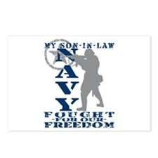 Son-n-Law Fought Freedom - NAVY Postcards (Package