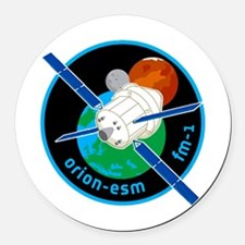Orion ESM Logo Round Car Magnet