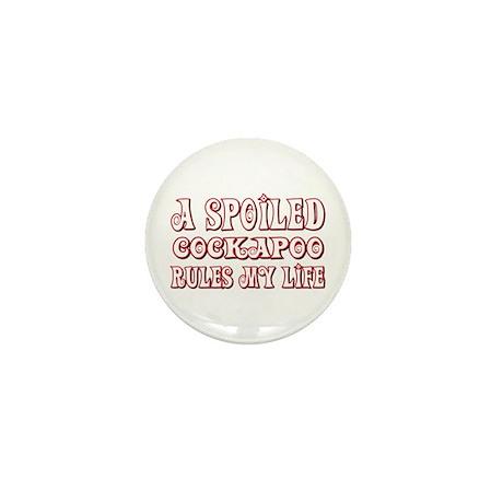 Spoiled Cockapoo Mini Button