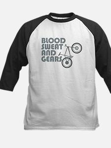 Bike - Blood, Sweat and Gears Baseball Jersey