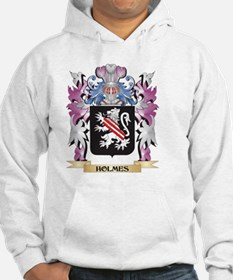 Holmes Coat of Arms (Family Cres Jumper Hoody