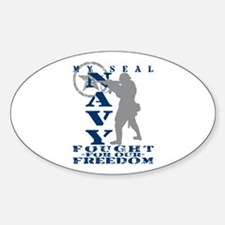 Seal Fought Freedom - NAVY Oval Decal