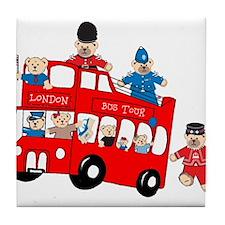 LDN only Bus Tour Tile Coaster