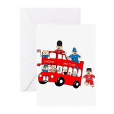 LDN only Bus Tour Greeting Cards (Pk of 10)