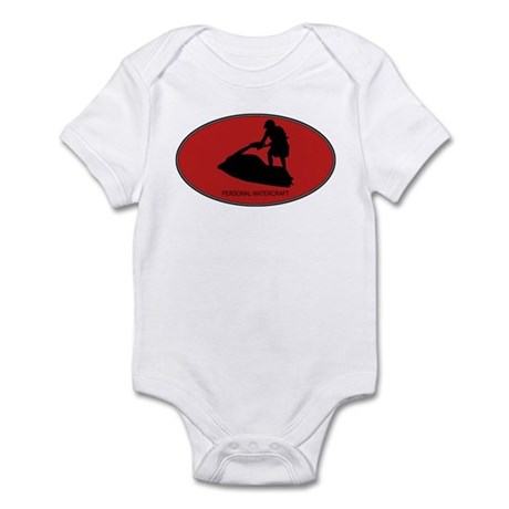 Personal Watercraft (euro-red Infant Bodysuit
