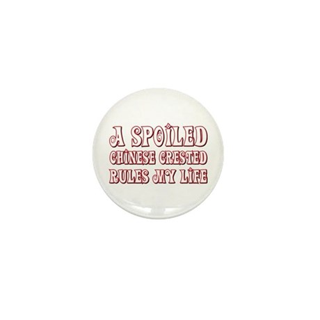 Spoiled Crested Mini Button (10 pack)