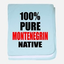 100 % Pure Montenegrin Native baby blanket