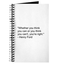 Henry Ford Quote Journal