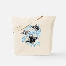 Patterned Manta Rays Tote Bag