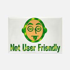 Not User Friendly Rectangle Magnet