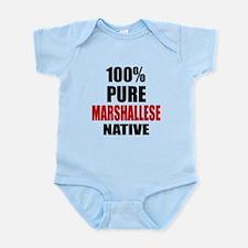 100 % Pure Marshallese Native Infant Bodysuit