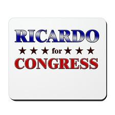RICARDO for congress Mousepad