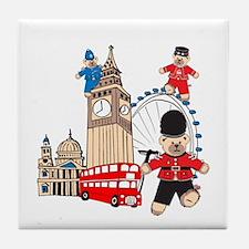 Running Around Tile Coaster