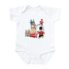 Running Around Infant Bodysuit