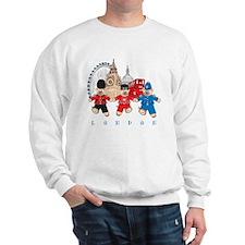 Teddy Holding Hands Sweatshirt