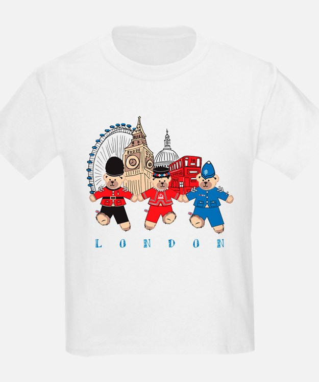 Teddy Holding Hands T-Shirt