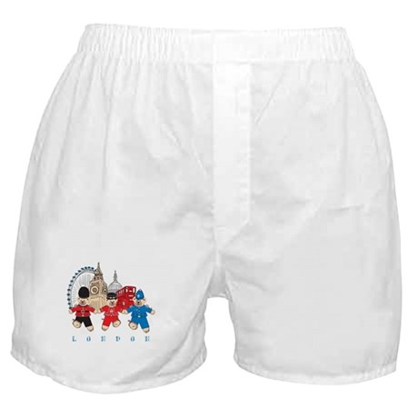 Teddy Holding Hands Boxer Shorts