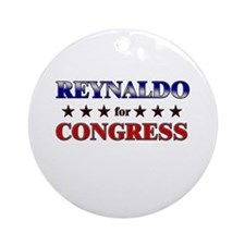 REYNALDO for congress Ornament (Round)