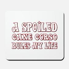 Spoiled Corso Mousepad