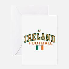 Ireland Football/Soccer Greeting Card