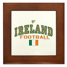 Ireland Football/Soccer Framed Tile