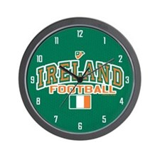 Ireland Football/Soccer Wall Clock