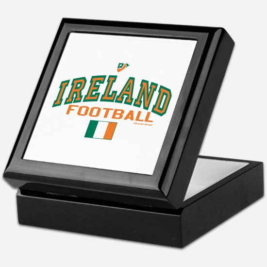 Ireland Football/Soccer Keepsake Box