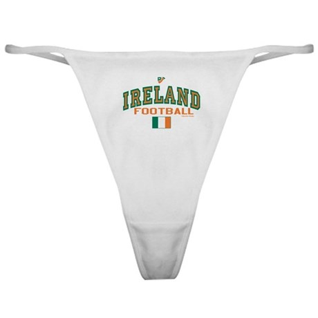 Ireland Football/Soccer Classic Thong