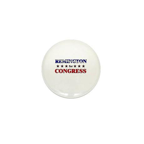 REMINGTON for congress Mini Button