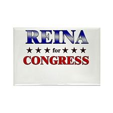 REINA for congress Rectangle Magnet
