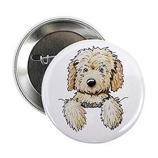 """Pocket Doodle Pup 2.25"""" Button"""