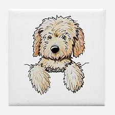 Pocket Doodle Pup Tile Coaster