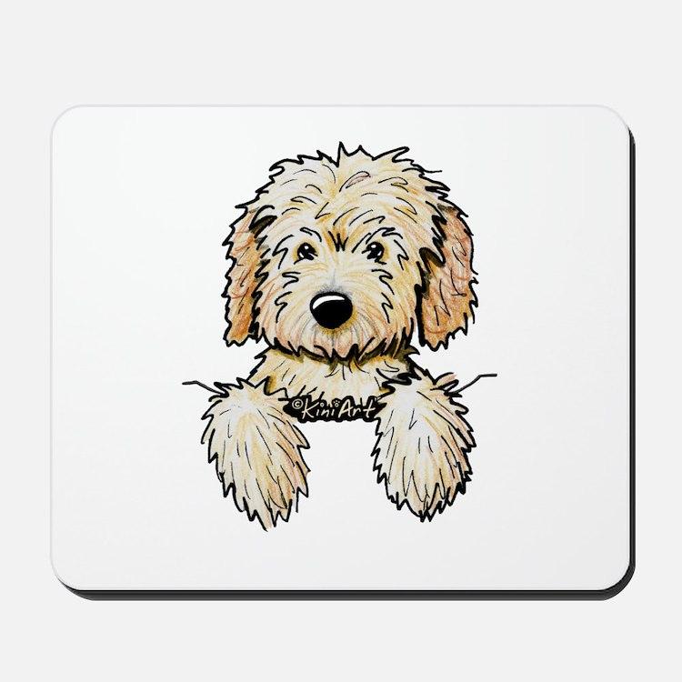 Pocket Doodle Pup Mousepad
