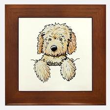 Pocket Doodle Pup Framed Tile