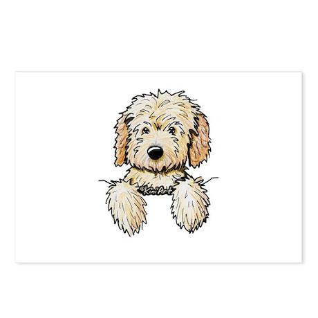 Pocket Doodle Pup Postcards (Package of 8)